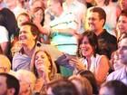 Glória Pires e Orlando Moraes vão ao teatro no Rio