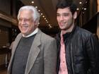 Filho de Antônio Fagundes sobre peça com o pai: 'Vai haver cobrança'