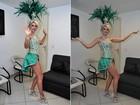 Antônia Fontenelle faz dieta e malhação pesada para carnaval