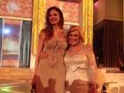 Luciana Gimenez e Hebe Camargo gravam especial de fim de ano