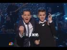 Justin Bieber participa de especial de Natal com Michael Bublé