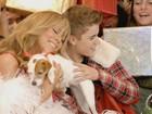 Mariah Carey posta foto da gravação de clipe com Justin Bieber