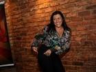 Regina Casé brinca no lançamento da nova temporada de 'Esquenta'