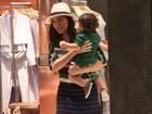 Juliana Paes parabeniza o filhote: 'Hoje é aniversário do meu pimpolho'