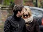 Kate Hudson passeio com o marido e o filho em Londres
