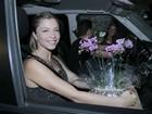 Angélica reúne famosos em sua nova casa para comemorar aniversário