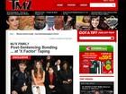 Site mostra filhos de Michael Jackson na plateia do 'X Factor'