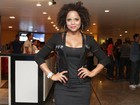 Saia justa: Adriana Bombom e Dudu Nobre quase se esbarram em show