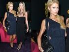 Muito magra, Paris Hilton exibe braço estranho em evento