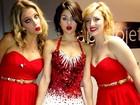 Selena Gomez posta foto com figurino de natal no Twitter
