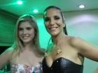 Famosos como Bárbara Evans vão ao Carnatal ver Ivete Sangalo