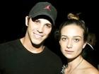 Rômulo Arantes Neto e Maria Pinna curtem noite no Rio
