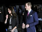 Príncipe William e Kate Middleton prestigiam concerto em Londres