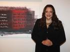 Ana Carolina inaugura exposição de quadros em São Paulo