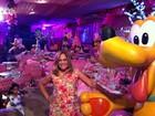 Susana Vieira vai a festa de aniversário em Manaus