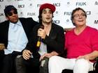 Fiuk lança CD e clipe com a presença do pai Fábio Jr.