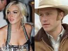 Lindsay Lohan estaria apaixonada por Heath Ledger quando ele morreu