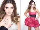 Giovanna Lancellotti posa para  revista com vestido tomara que caia