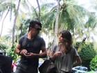 Tá rolando? Carol Magalhães curte férias em Miami com Tarso Marques