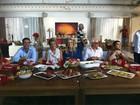 Angélica abre sua casa nova para gravar o 'Estrelas' com famosos