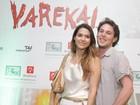 Famosos no espetáculo 'Varekai', do Cirque du Soleil