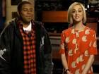 Katy Perry aparece ainda mais loira em programa de TV