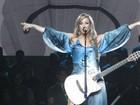 Claudia Leitte canta Cazuza em gravação de DVD