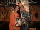 Jornal: Avô e pai de quatro filhos, Belo quer ter bebê com Gracyanne