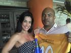 Scheila Carvalho é a nova rainha de bateria da Paraíso de Tuiuti