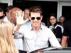 Tom Cruise desembarca no Rio para lançamento de filme