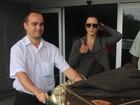 Cheia de malas, Guilhermina Guinle desembarca no Rio