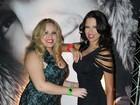 Ex-BBBs Ariadna e Paulinha vão a festa no Rio