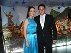 Felipe Dylon e Aparecida Petrowky se casam no Rio de Janeiro