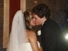Após casamento, Dylon e Aparecida Petrowky promovem festa