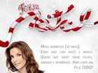 Ivete Sangalo posta cartão de Natal para seguidores do Twitter:'Feliz tudo'