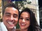 Ricardo Pereira grava com Bruna Marquezine cenas de 'Aquele Beijo'