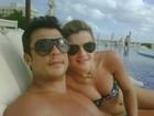 Ceará posta foto ao lado de Mirella Santos em Cancún