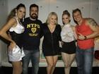 Cristiano, do BBB 4, aparece 'bombado' em show no Rio