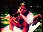 Bárbara Evans e namorado curtem Búzios em clima de romance