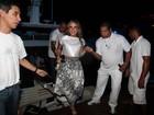 Claudia Leitte comanda festa para plateia de famosos em Angra dos Reis