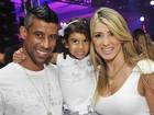 Léo Moura e Elano vão a festa de Réveillon em hotel no Rio