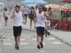 Guilherme Berenguer corre para entrar em forma