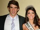 Michael Phelps e ex-Miss Califórnia terminan namoro, diz jornal