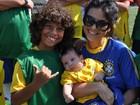 Aline Barros faz festa para o filho mais velho