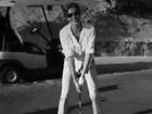 Gisele Bündchen aprende a jogar golfe: 'Importante é não desistir'