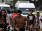 Ex-BBB Cristiano posta foto andando de skate com Mau Mau