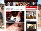 Lindsay Lohan faz nova tatuagem: 'Viver sem arrependimentos'.