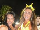 Kelly, do 'BBB 12', aparece com Nicole Bahls em foto de carnaval