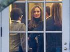 Angelina Jolie e Brad Pitt se encontram com Barack Obama