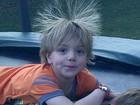 Britney Spears posta foto do filho Jayden com o cabelo 'arrepiado'